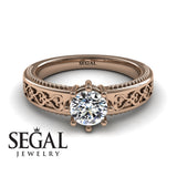 The Victorian Hearts Diamond Ring- Evelyn no. 2