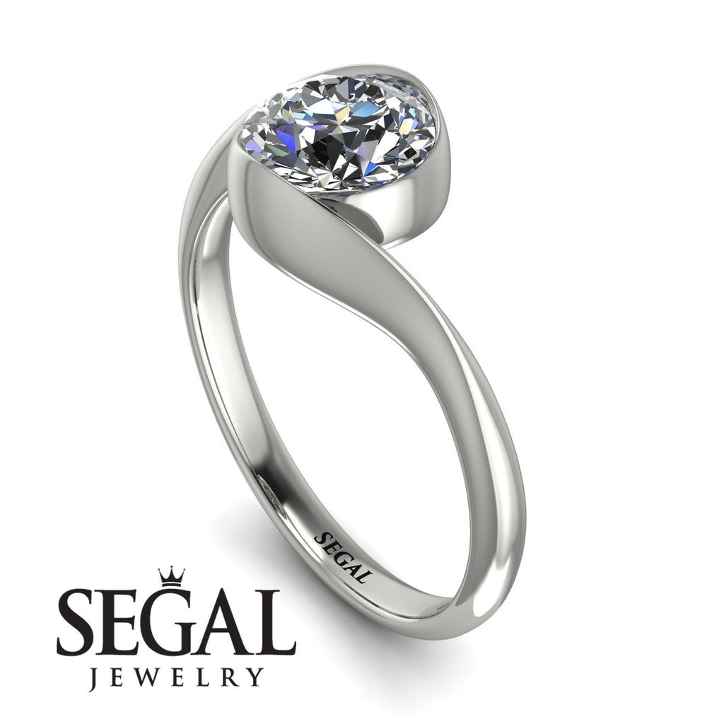 Vintage Bezel Twist Diamond Ring - Everly No. 3