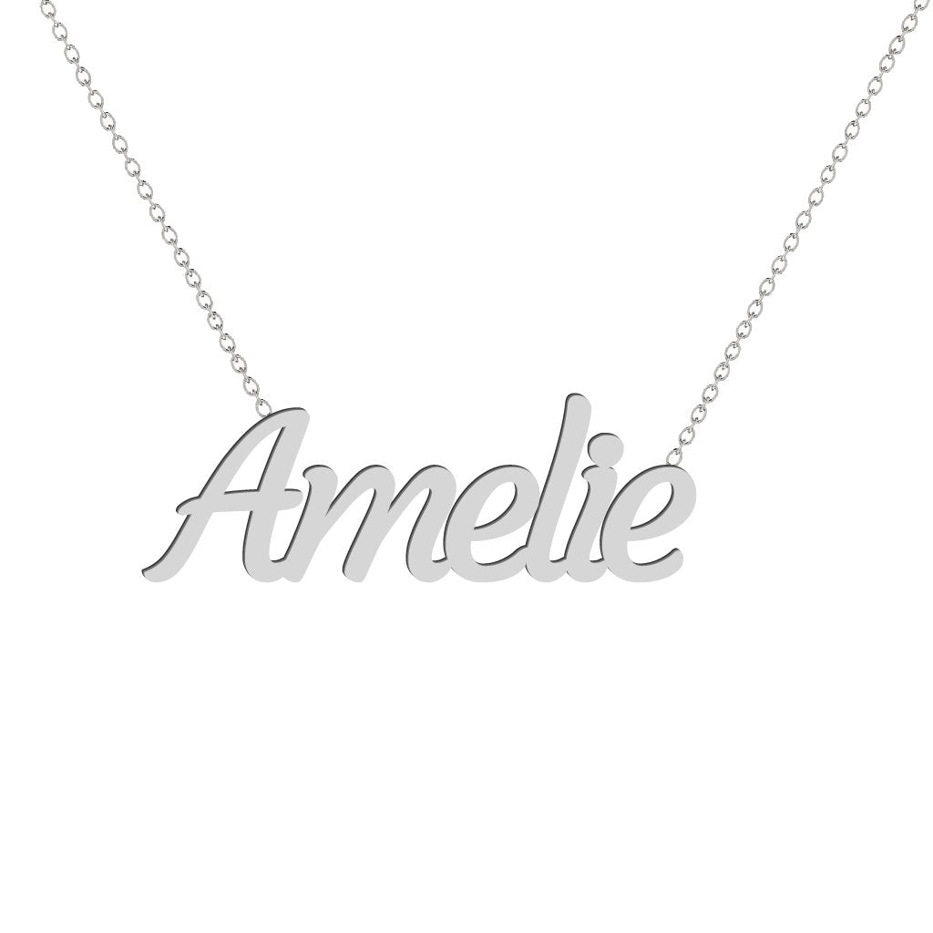 Gold Name Necklace - Amelie