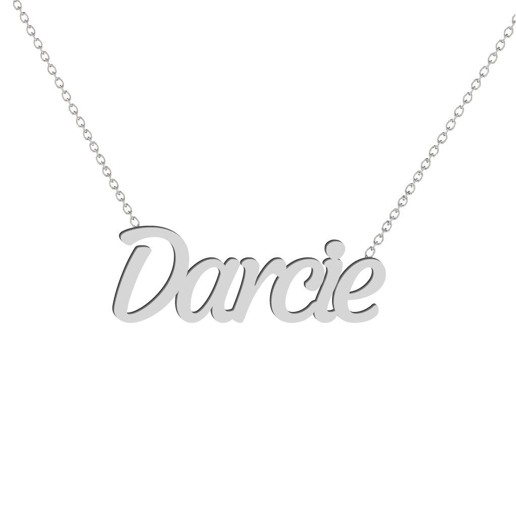Gold Name Necklace - Darcie