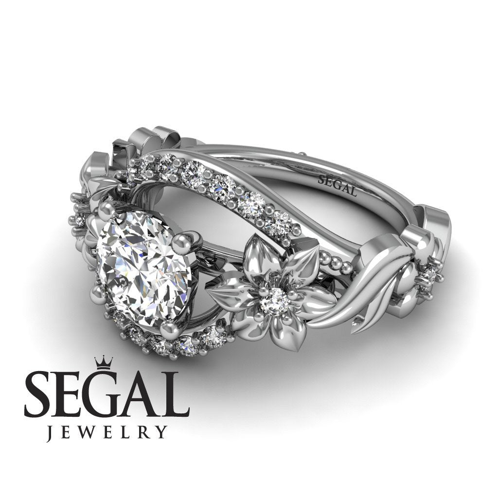Adam's Spring Full With Flowers Diamond Ring - Layla no. 2