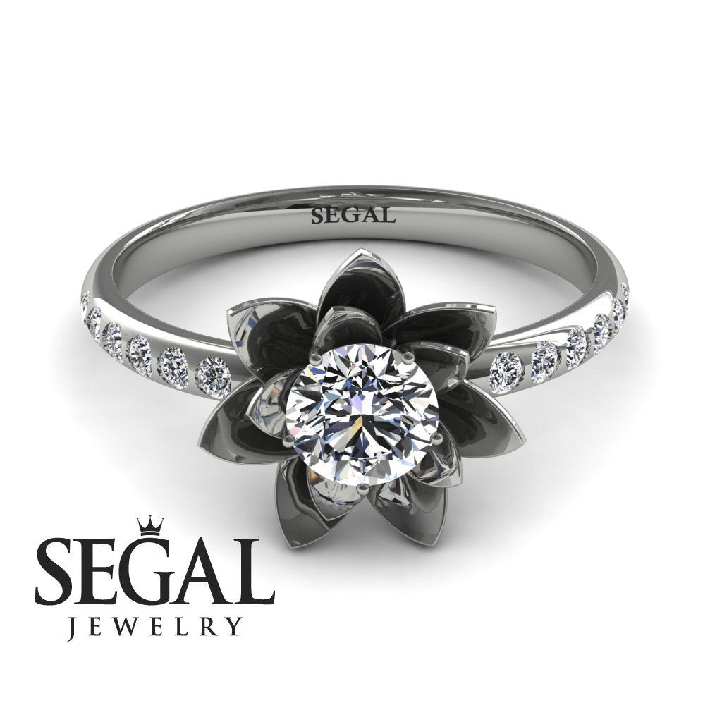 Lotus Flower Diamond ring - Lotus no. 3