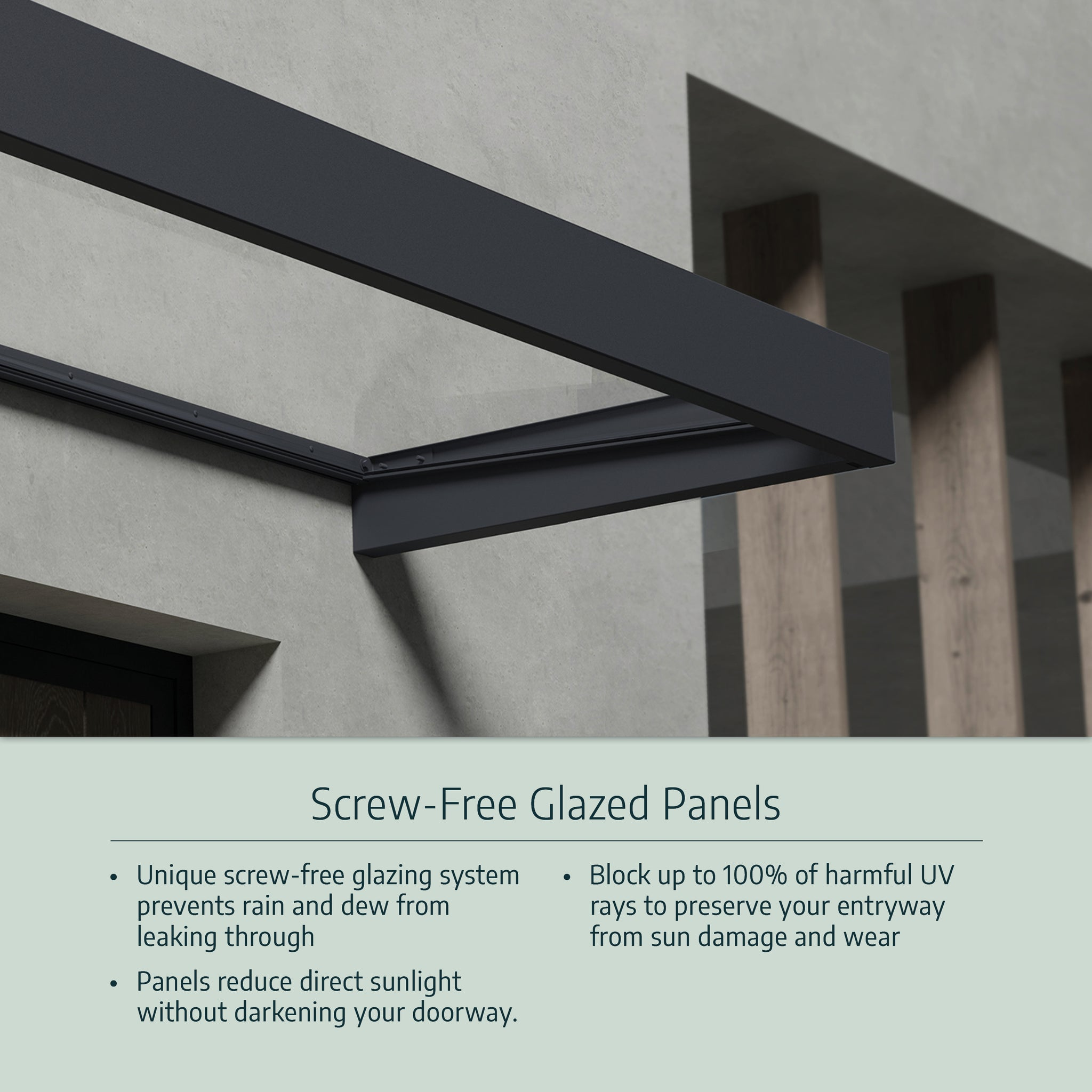 Palram's Door Awnings Competitive Advantages