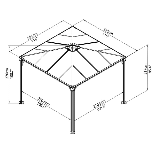 Palram_Garden_Gazebo_Palermo_3000_Drawing_ISOview