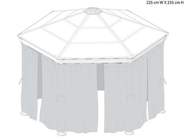 Palram gazebos in canada awnings canada for Express wash roma