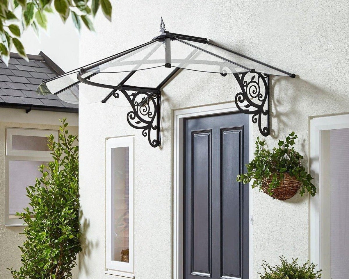 Awnings Canada - Palram's Door Awnings, Patio Cover ...