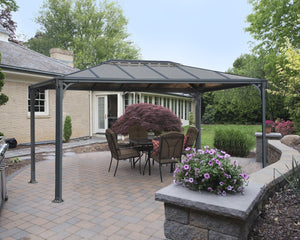 Palram Martinique™ 3600 - 10 ft. x 12 ft. Garden Gazebo - Awnings-Canada