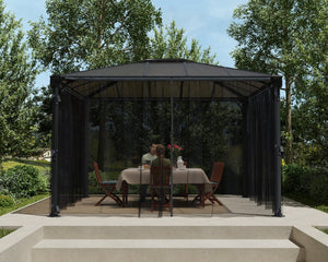 Palram Martinique™ Gazebo Mosquito Netting - Awnings-Canada