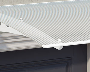 Palram Lyra™ 1350 Door Awning 35in x 53in - Awnings-Canada