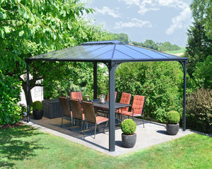 Palram Martinique™ 4300 - 10 ft. x 14 ft. Garden Gazebo - Awnings-Canada