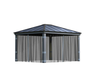 Palram Dallas™ Gazebo Mosquito Netting Set - Awnings-Canada