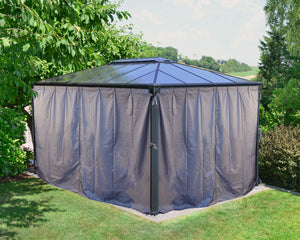 Palram Martinique™ Gazebo Curtain set - Awnings-Canada