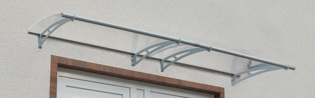 Aquila Clear Door Awnings