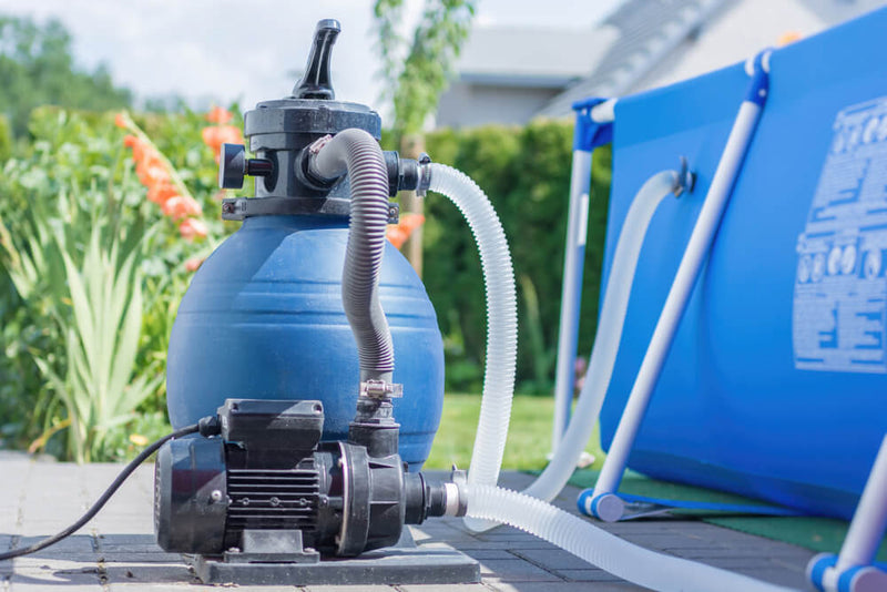 how to maintain a swimming pool sand filter