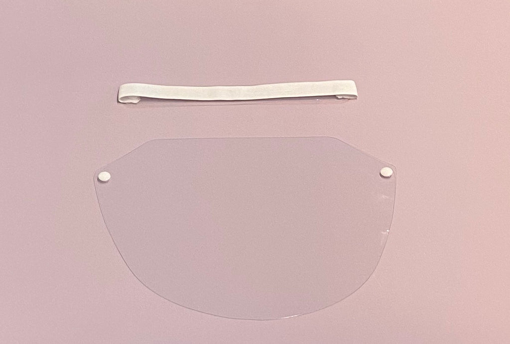 Face Shield (White) - Elite Lash