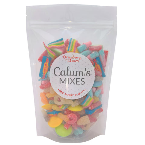 Calum's Mixes - Fizzy Sweet Mix - Strawberry Laces Sweet Shop