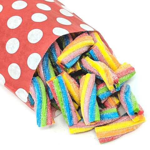 Fizzy Twists - Strawberry Laces Sweet Shop