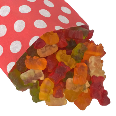 Sugar Free Gummy Bears - Strawberry Laces Sweet Shop