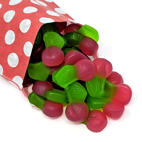 Gummy Cherries - Strawberry Laces Sweet Shop