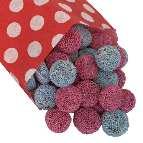 Jelly Buttons - Strawberry Laces Sweet Shop
