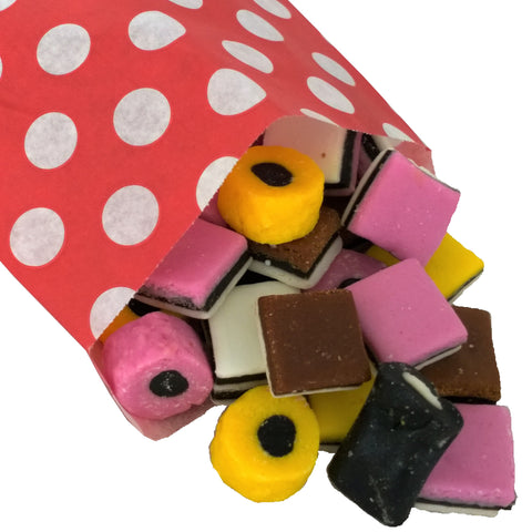 Liquorice Allsorts - Strawberry Laces Sweet Shop