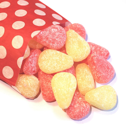 Large Pear Drops - Strawberry Laces Sweet Shop