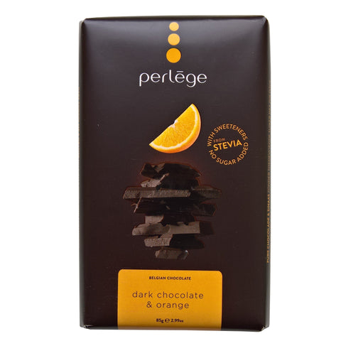 Sugar Free Perlege Dark Chocolate & Orange Bar - Strawberry Laces Sweet Shop