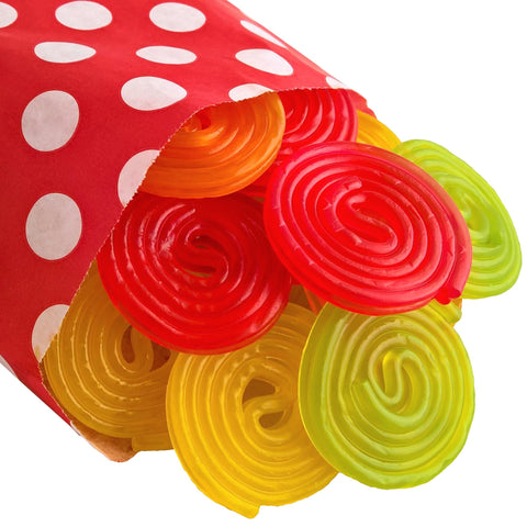 Rotella Gummy Wheels - Strawberry Laces Sweet Shop