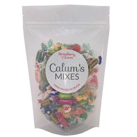 Calum's Mixes - Sugar Free Sweet Mix - Strawberry Laces Sweet Shop
