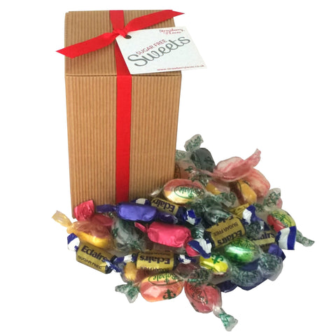 Sugar Free Sweet Gift Box - Strawberry Laces Sweet Shop