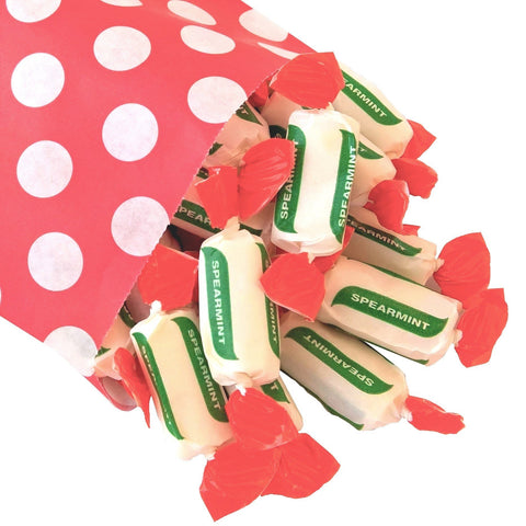 Sugar Free Spearmint Chews - Strawberry Laces Sweet Shop