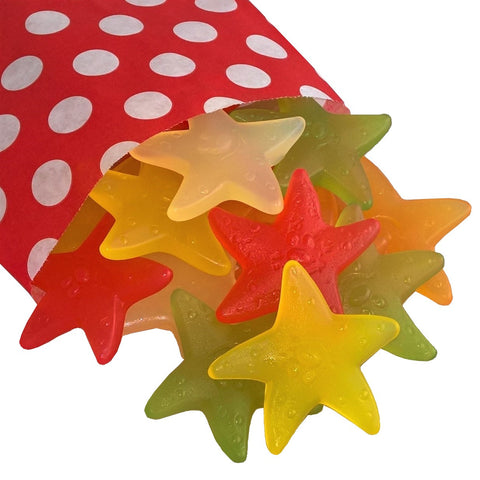 Gummy Starfish - Strawberry Laces Sweet Shop