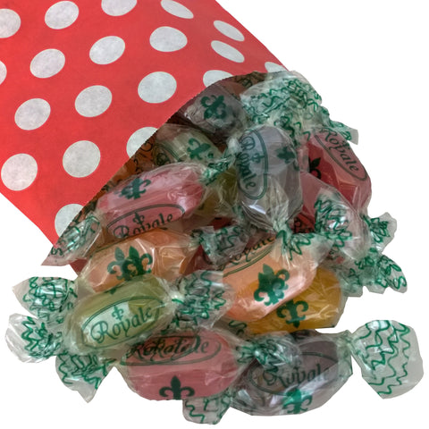 Sugar Free Fruit Drops - Strawberry Laces Sweet Shop