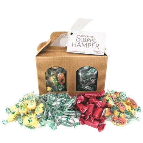 Sugar Free Sweet Hamper Box - Small - Strawberry Laces Sweet Shop