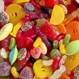 Calum's Mixes - Vegetarian Sweet Mix - Strawberry Laces Sweet Shop