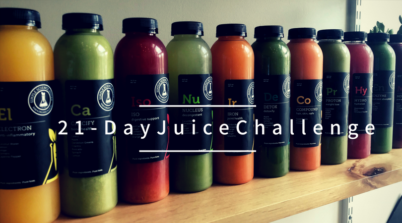 1-Day Juice Cleanse + 21-Day Juice Challenge- Starts November 6th