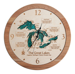 "3D Clock-17.5"" (Multi-Level)"