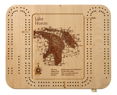 Cribbage Board 9 x 12 in