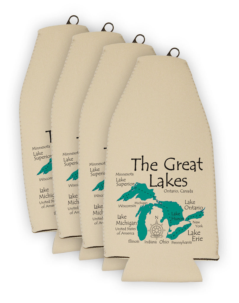 Lake Bottle Cooler - LA -  Set of 6