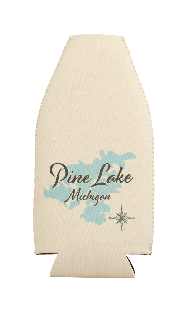 Lake Bottle Cooler - LS -  Set of 6