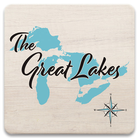 Lake Square Trivet - LS -  7 x 7 in