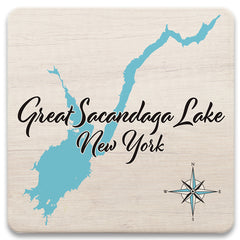 Lake Square Coasters - LS - 4.25 x 4.25 in Set of 8!