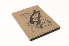 Etched Leather Notebook 9 x 12 or 7 x 9 in