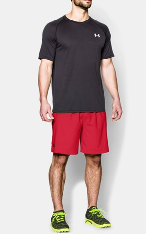 Under Armour 1240128 SHORT UOMO Red