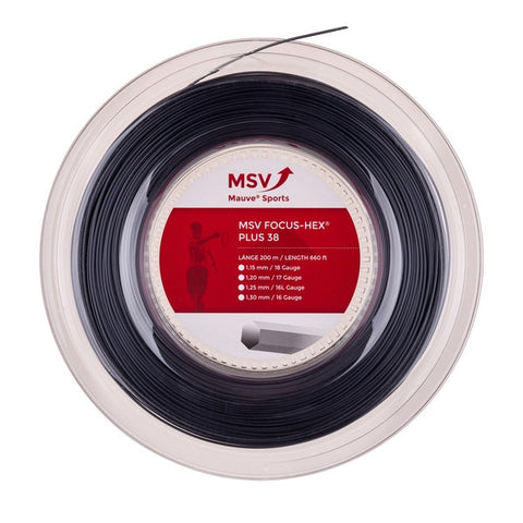 MSV BOBINA 200 mt FOCUS HEX PLUS 38