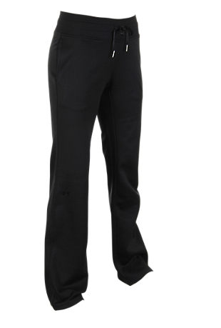 Under Armour PANTA DONNA SEMI FITTED Black