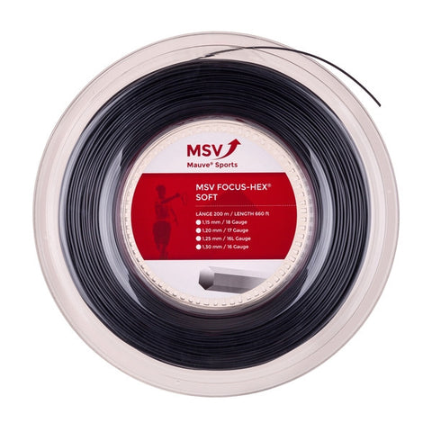 MSV BOBINA 200 mt FOCUS HEX SOFT