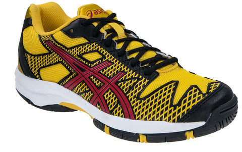 Asics GEL-SOLUTION SPEED 2 GS BLACK/FIERY RED/YELLOW JUNIOR
