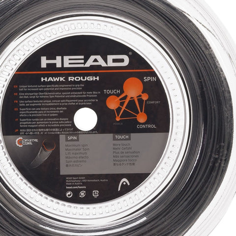 HEAD Bobina HAWK ROUGH 1.25 - Black -