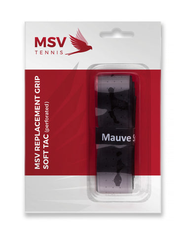 MSV BASIC GRIP SOFT  TAC  EMBOSSED BLACK